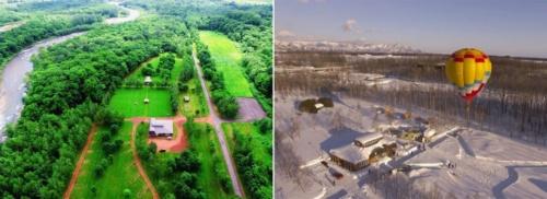 2017年4月からスノーピークが運営管理を開始した「スノーピーク十勝ポロシリキャンプフィールド」(写真:スノーピーク)
