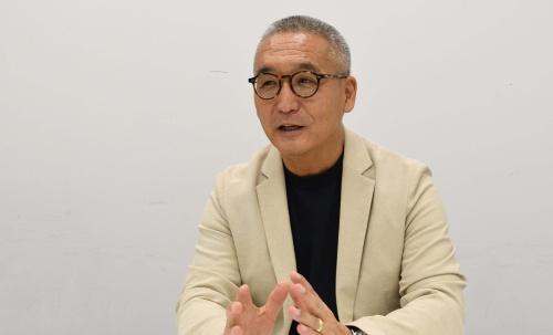 ミズベリング・プロジェクト事務局プロデューサーの山名清隆氏(写真:日経BP 総合研究所)