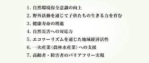●モンベル 7つのミッション(資料:モンベル)
