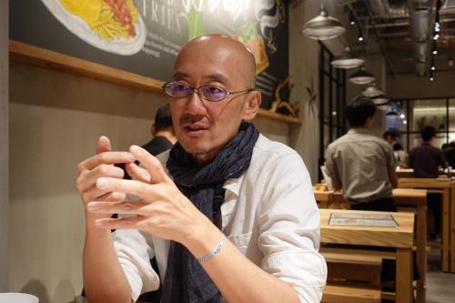 日本百貨店の鈴木正晴社長(写真:日経BP総研)