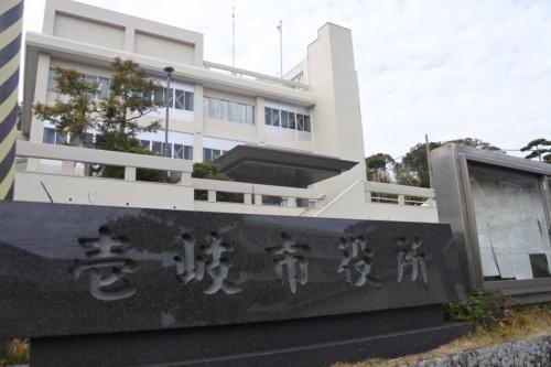図1●壱岐市は国内自治体で初めて「気候非常事態宣言」を公表した