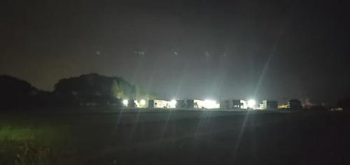 図2●町内全域が停電のなか、住宅に電気を供給した