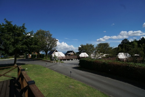 SUITE CABINからの眺め(写真:日経BP)