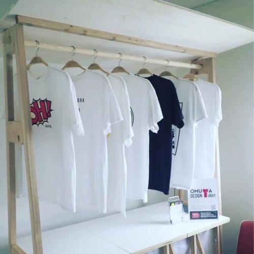 「大牟田デザインTシャツ」(資料提供:大牟田ビンテージのまち)