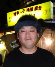 喜柳の車長、迎敬之氏