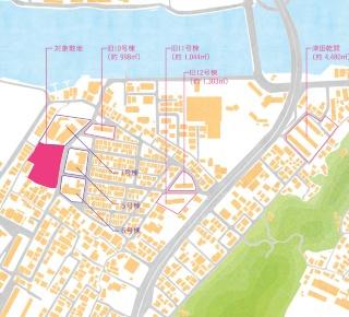 事業用地(資料:徳島県)