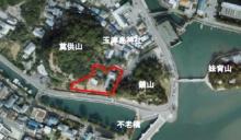古民家の位置(写真:和歌山市)