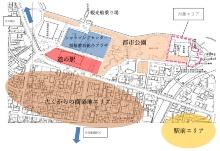 対象エリアの位置(資料提供:宮津市)