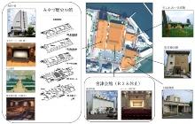 今回対象となる島崎エリアの公共施設(資料提供:宮津市)