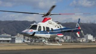 実験で使用するヘリコプター「ベル430」(資料:中日本航空)