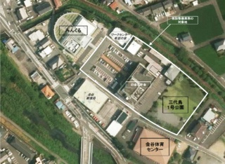 事業対象地の現況(資料:島田市)