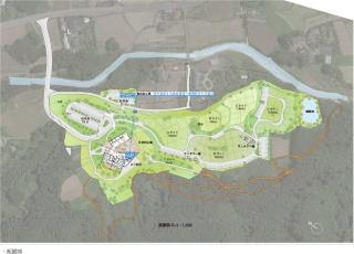 基本設計の施設配置イメージ(資料:鹿沼市)