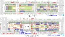 配置計画図(資料提供:名古屋市)