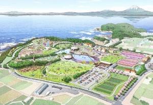 「エリアマネジメント横須賀共同事業体」の提案による全体イメージ(資料:横須賀市)