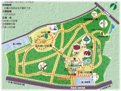 公園全体図(資料:龍ヶ崎市)