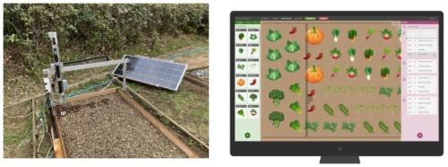 ロボットによる農作業実演のイメージ(資料:横浜市)