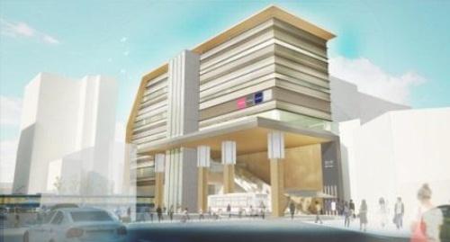 大田区立池上図書館が移転する池上駅(資料:大田区、東京急行電鉄)