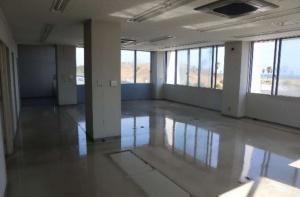 観光物産会館2階にある商工振興室跡の現況(出所:御前崎市)