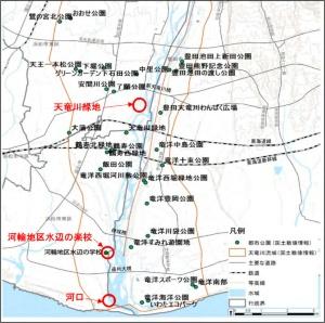 社会実験実施の対象箇所(出所:国土交通省)