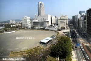 旧広島市民球場跡地の現況(資料:広島市)