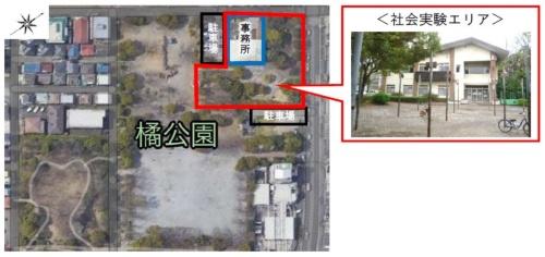社会実験の対象エリア(資料:川崎市)