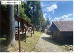 森林公園内のバンガロー棟(資料:松阪市)