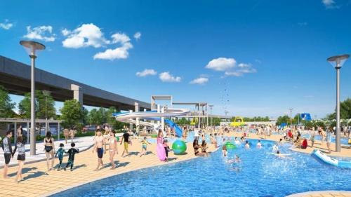 プール施設のイメージ(資料提供:横浜市)