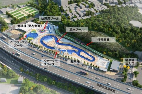 敷地全体の鳥瞰図(資料提供:横浜市)