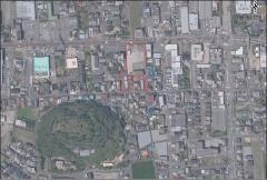 跡地周辺の航空写真(資料:太子町)