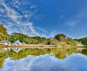 水海道あすなろの里の景観(写真:常総市)