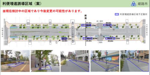 利便増進誘導区域案の概要(資料:姫路市)