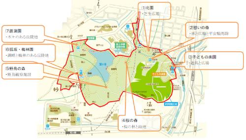 宝が池公園の概要(出所:京都市)