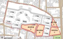 未利用地の位置(資料:福井県)