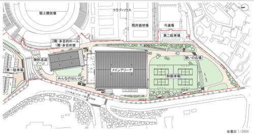 施設配置図(資料:下関市)