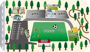 施設配置図(資料:石川町)