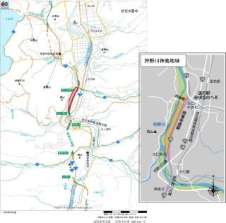公園予定地の位置図(資料:伊豆の国市)