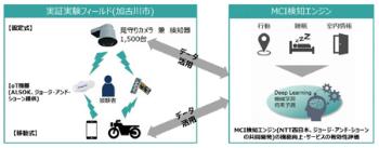 健康寿命延伸サービスの実証実験の概要(出所:加古川市)