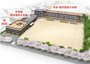 整備イメージ図(資料:北九州市)