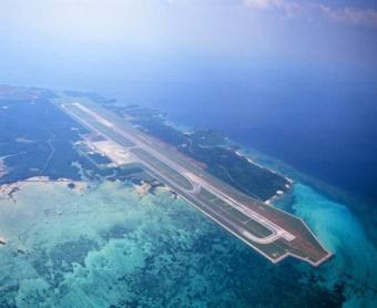 空港と周辺の現況写真(資料:沖縄県)