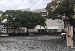 現在の犬山駅東からくり時計南側スペース(提供:犬山市)