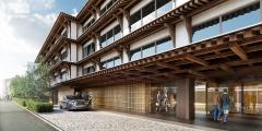 ホテルの完成予想イメージ(資料:NTT都市開発)