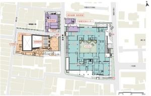 施設配置(資料:NTT都市開発)