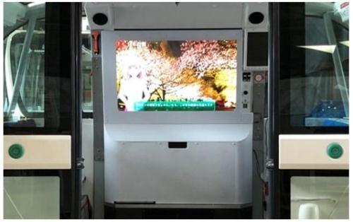 車両内に搭載されるディスプレイのイメージ(写真:パナソニック)