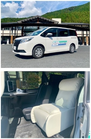 実証実験で活用する移動診療車(出所:MONET Technologies)