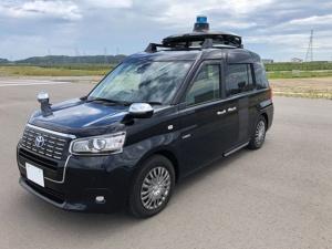 トヨタJPN TAXIをベース車両とする自動運転タクシー (出所:Mobility Technologies)