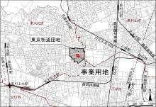 東京街道団地の位置(資料:東京都)