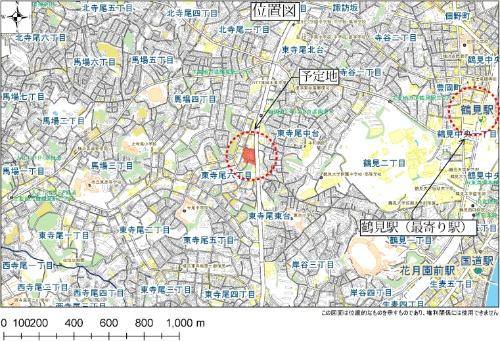 公園整備予定地(資料:横浜市)