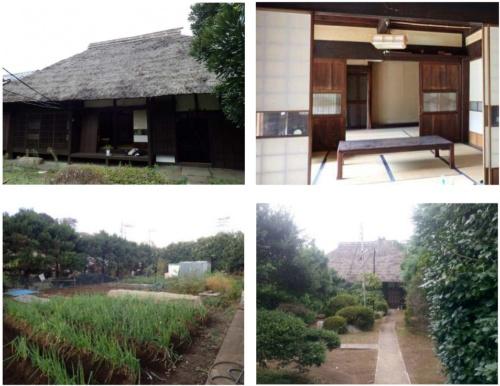 古民家と周辺の現況(提供:横浜市)