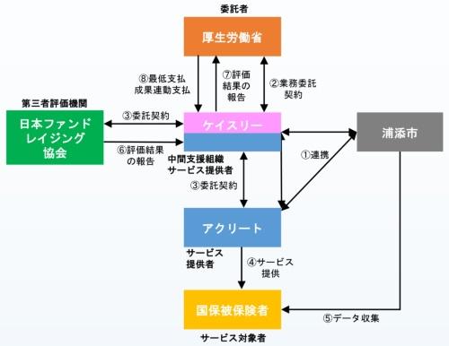 事業の推進体制(資料:厚生労働省)