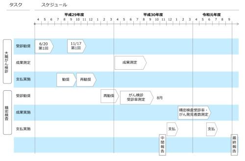 実施スケジュール(最終報告書より)